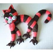 Котик полосатый